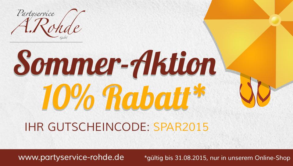 Sommer-Aktion 2015