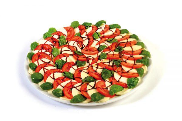 Tomaten-Mozzarella-Teller