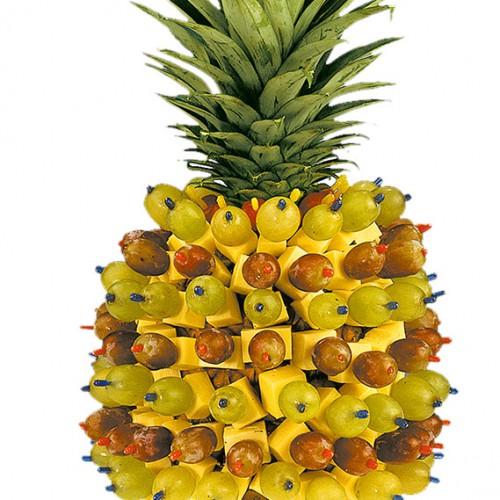 Kaese-Ananas