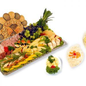 Gourmetplatte-komplett