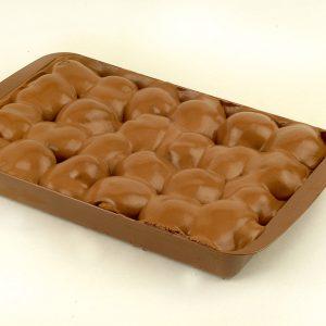 Italienische Schokoladen-Profiteroles